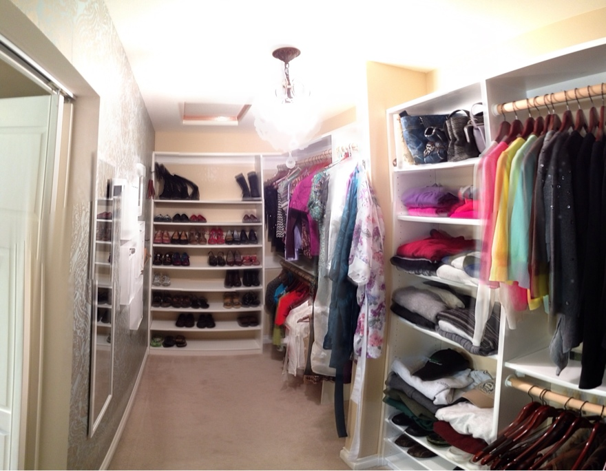 Attractive Before, Final Closet